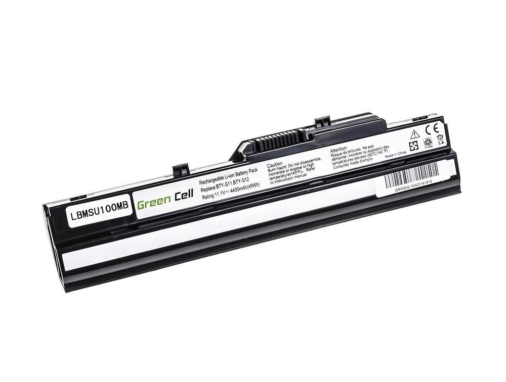 Bateria BTY-S11 BTY-S12 do laptopów do MSI Wind U90 U100