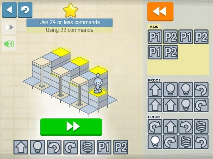 Najlepsze programy komputerowe dla dzieci, programy edukacyjne, Light_Bot