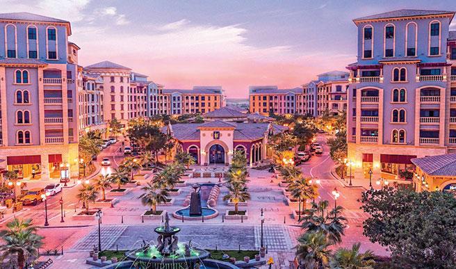 Doha_z_dzieckiem, Doha, stopover, przesiadka, Katar, tranzyt, The_Pearl, Perła, sztuczna_wyspa, Medina_Central