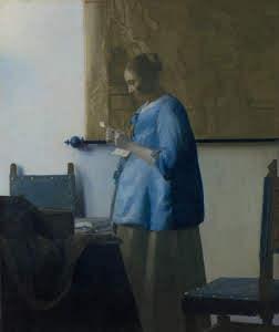Rijks_Kobieta w niebieskiej sukni