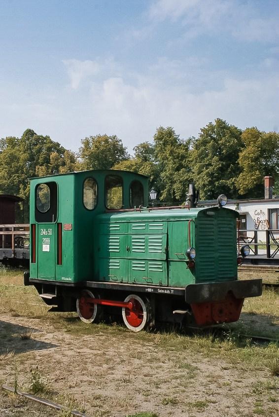 Wąskotorowa lokomotywa spalinowa WLs50.