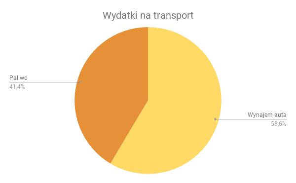 wydatki na transport 1 - Koszty niskobudżetowej podróży w Islandii