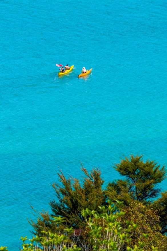 Abel Tasman - 3 tygodnie w Nowej Zelandii - plan trasy