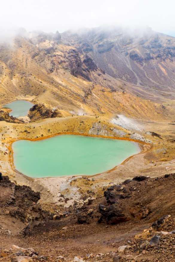 Tongariro NZ - 3 tygodnie w Nowej Zelandii - plan trasy
