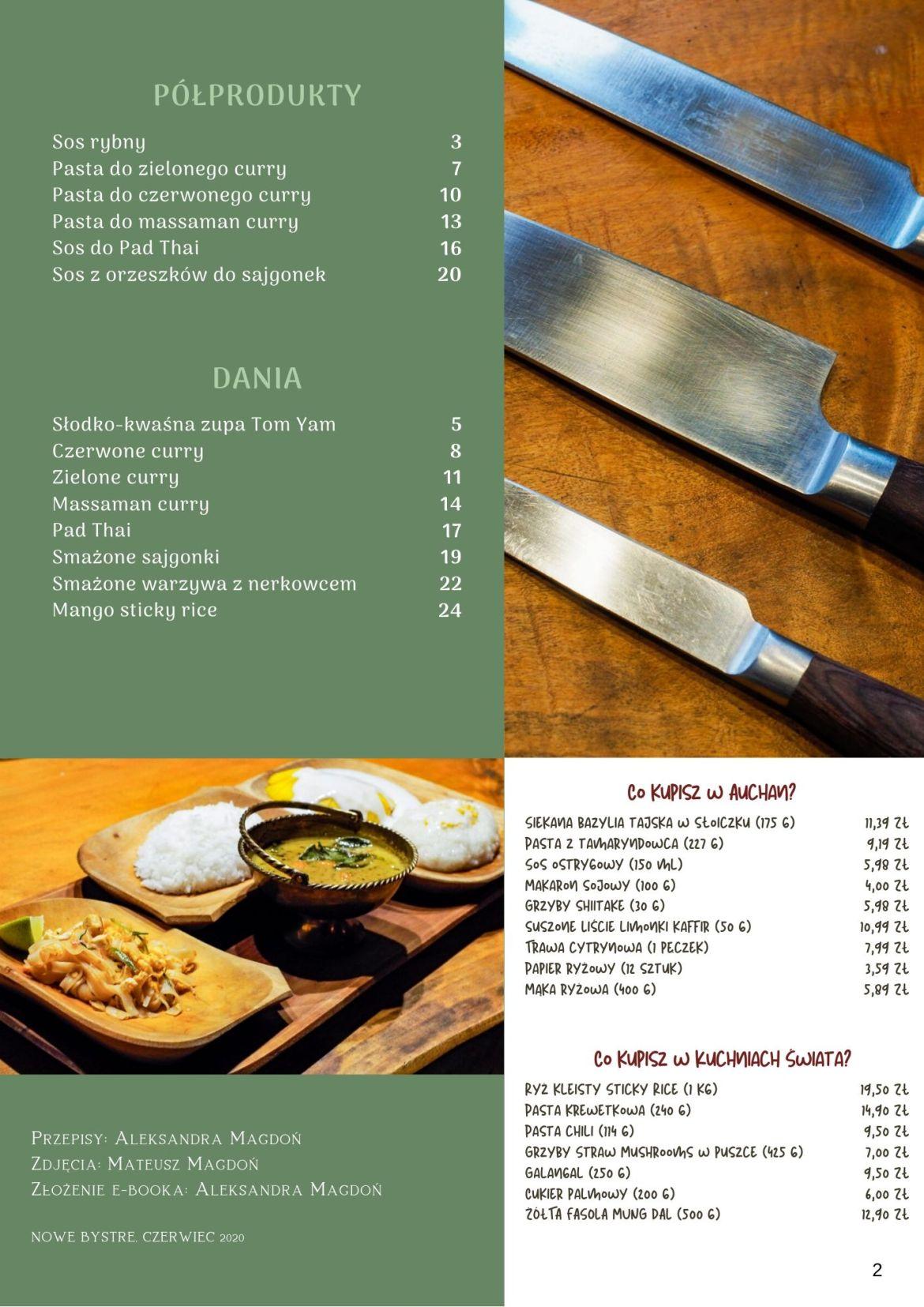 do kolazu 1 - Tajska kuchnia w pigułce e-book