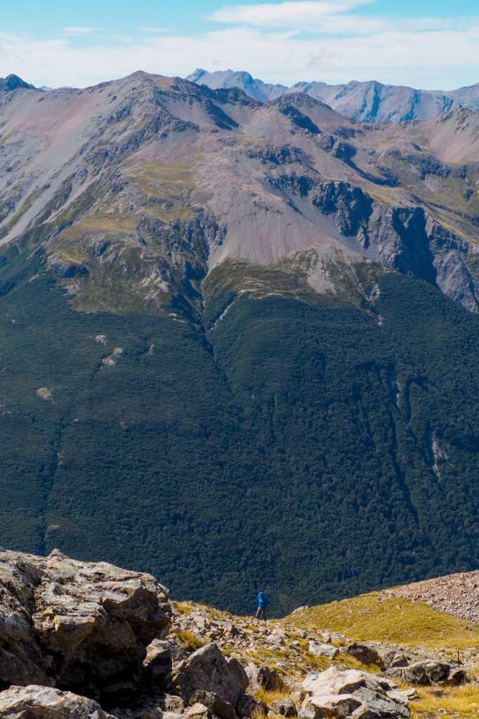 Avalanche Peak 682x1024 - Nowa Zelandia - koszty podróży