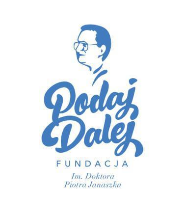 logo fundacji podaj dalej