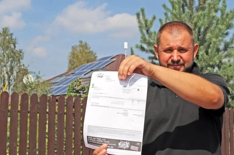 Rachunek za prąd tylko 33,59 zł! To możliwe dzięki instalacji fotowoltaicznej - mamy dowody!
