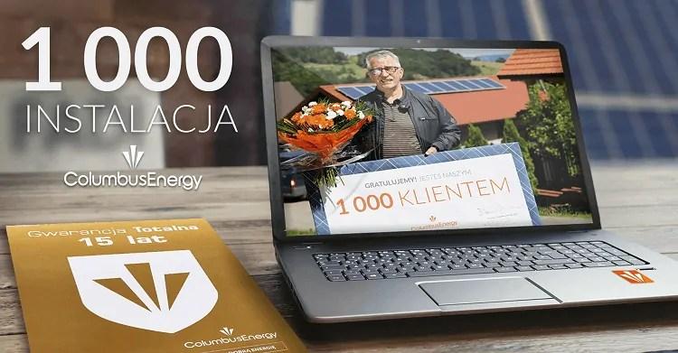 1000 klient Columbus Energy