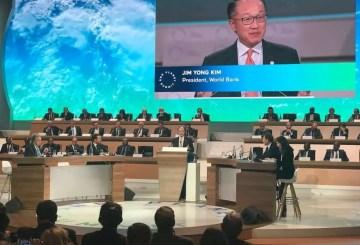 World Bank, World Bank Group, One Planet Summit, Jim Yong Kim, summit, speech