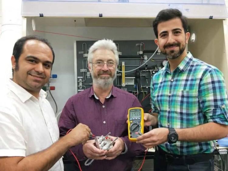 Shahin Heidari, John Andrews, Saeed Seif Mohammadi, RMIT, RMIT University, proton battery, scientists