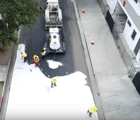 Białe ulice pomogą ochłodzić Los Angeles