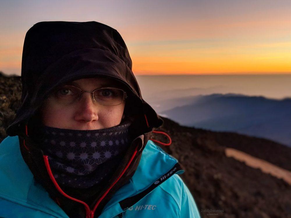 autorka bloga o wschodzie słońca na Teide.