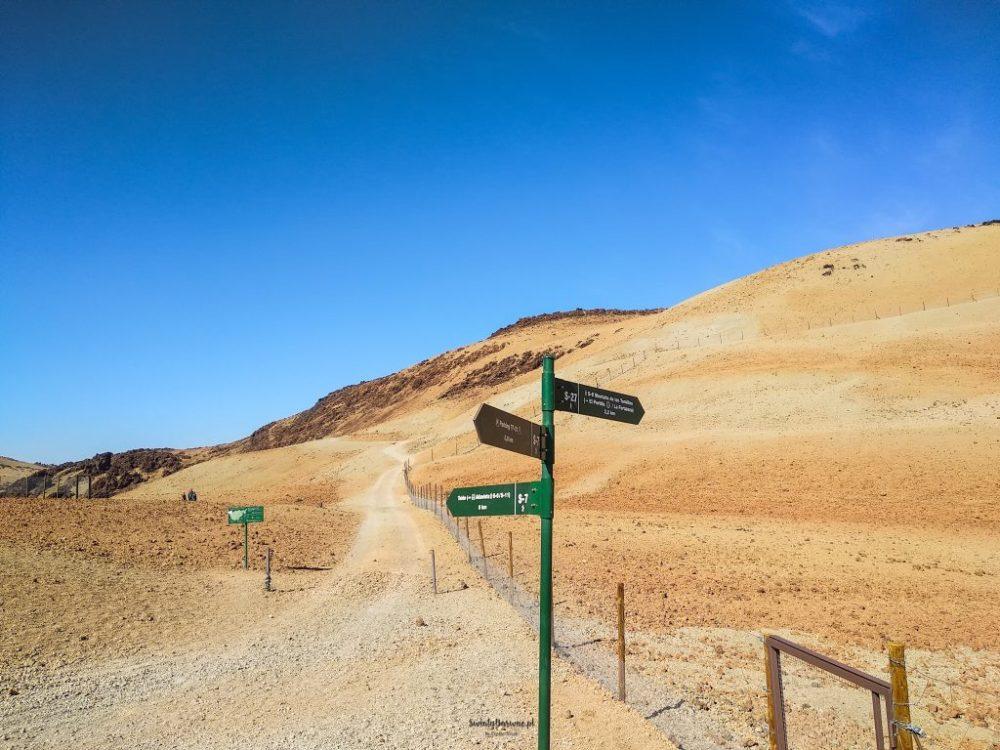 Zdjęcie ze szlaku na Montana Blanca