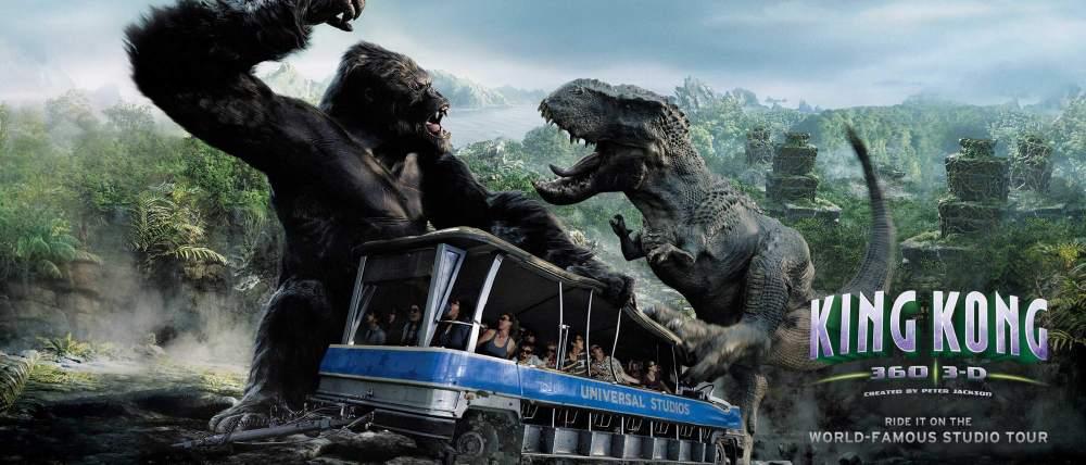 Reklama King Kong Ride