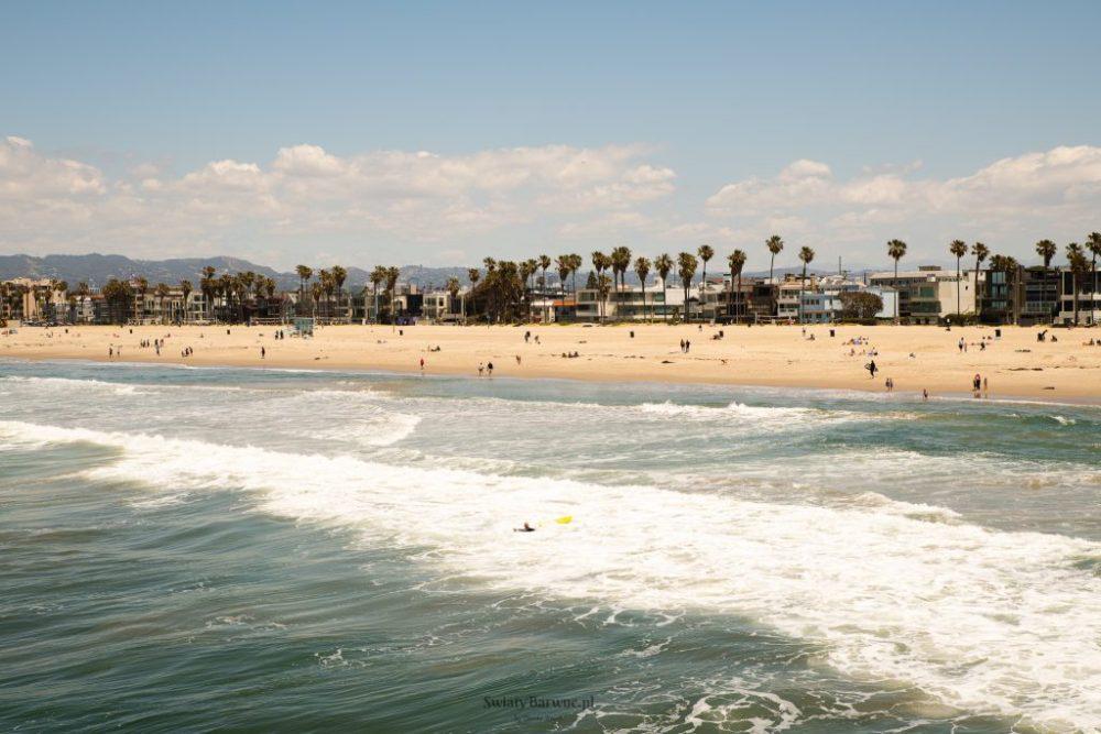 plaża w Venice Beach, Los Angeles