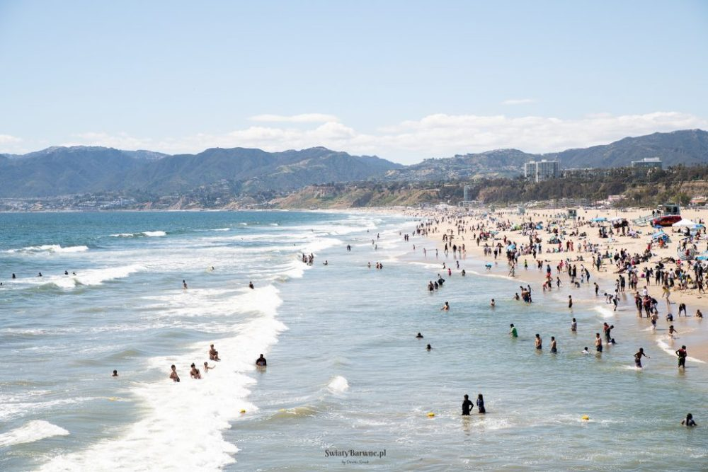 Plaża w Santa Monica, Los Angeles
