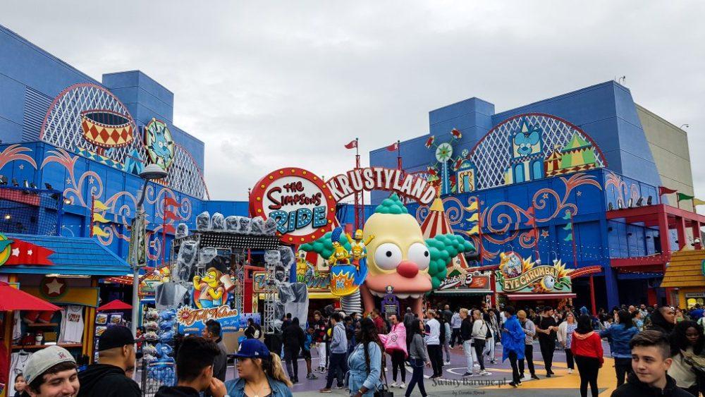 Zdjęcie z atrakcji Krustyland w Universal Studios