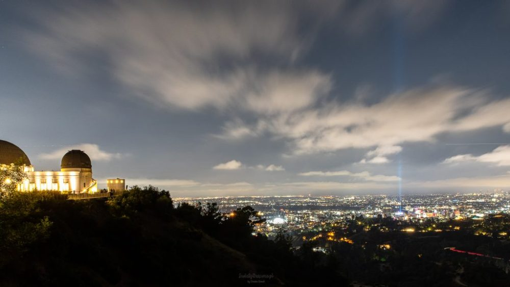Los Angeles: panorama miasta z Griffith Observatory