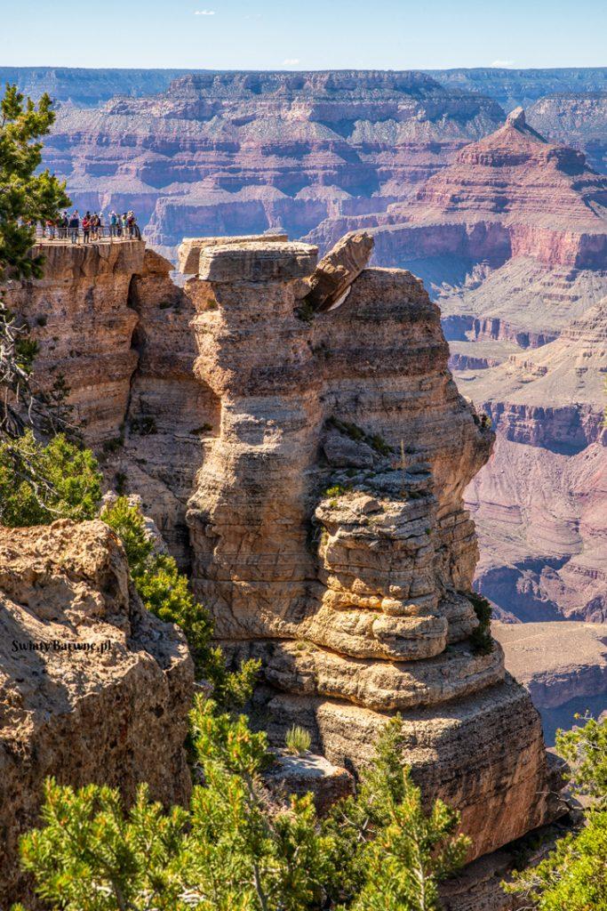 Wielki Kanion - punkt widokowy