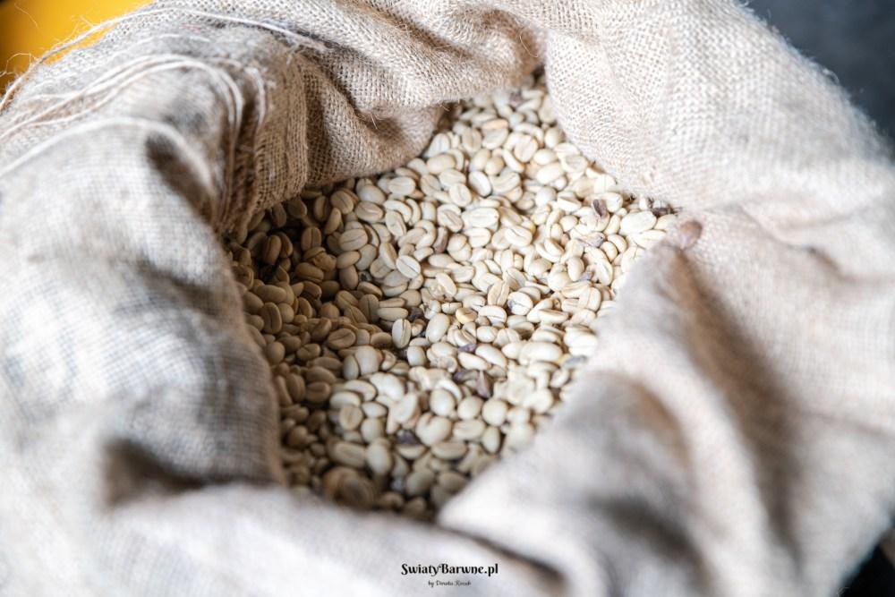 ziarna kawy gotowe do przetwarzania