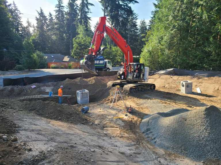 Construction Of Drainage System