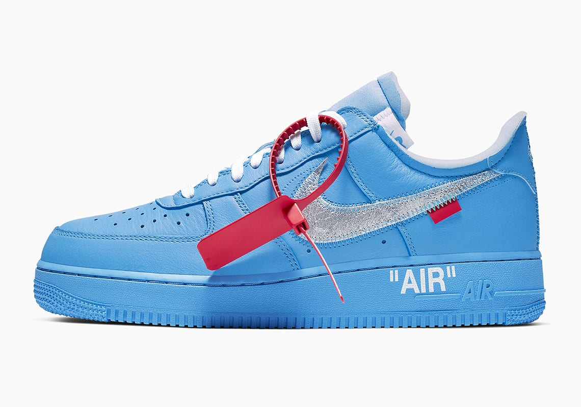 """fba04f539d Nike Reveals Details On Off-White x Nike Air Force 1 """"MCA"""""""