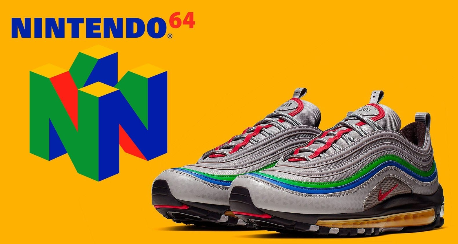 Nike Honors the Iconic Nintendo 64 with a Special Edition Air Max 97