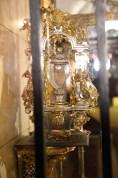 Serce św. Teresy w relikwiarzu w Alba de Tormes (1)