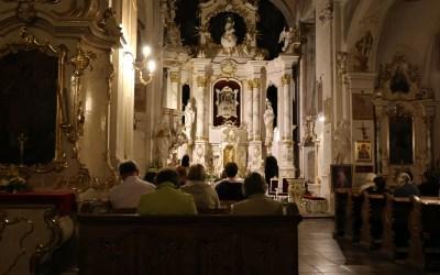 Spotkanie wSanktuarium Matki Bożej Szkaplerznej wZamartem