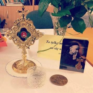 Towarzyszyły nam relikwie św. Rafała