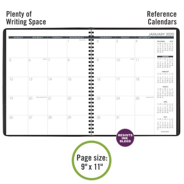 At A Glance 2020 Monthly Planner Open image 2
