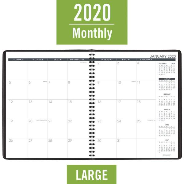 At A Glance 2020 Monthly Planner Open