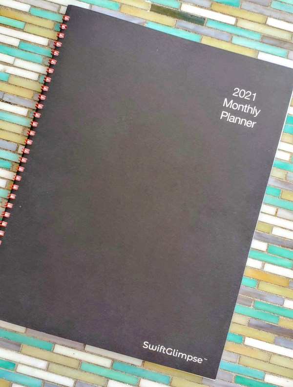 2021 monthly planner, personal planner