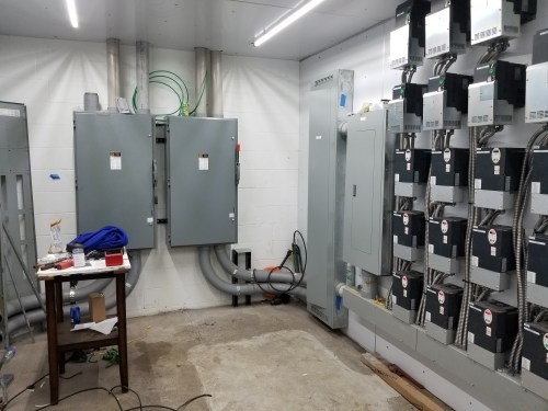 small resolution of electrical panel install