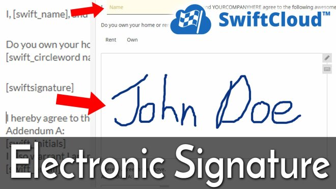 Electronic Signature Video Training