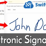 WordPress Electronic Signature
