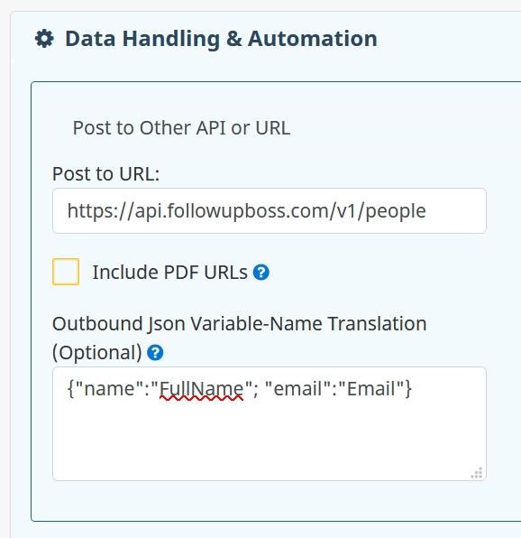 SwiftCloud API Outbound