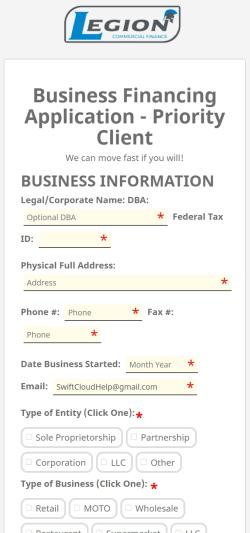 Merchant Cash Advance Software Phone App