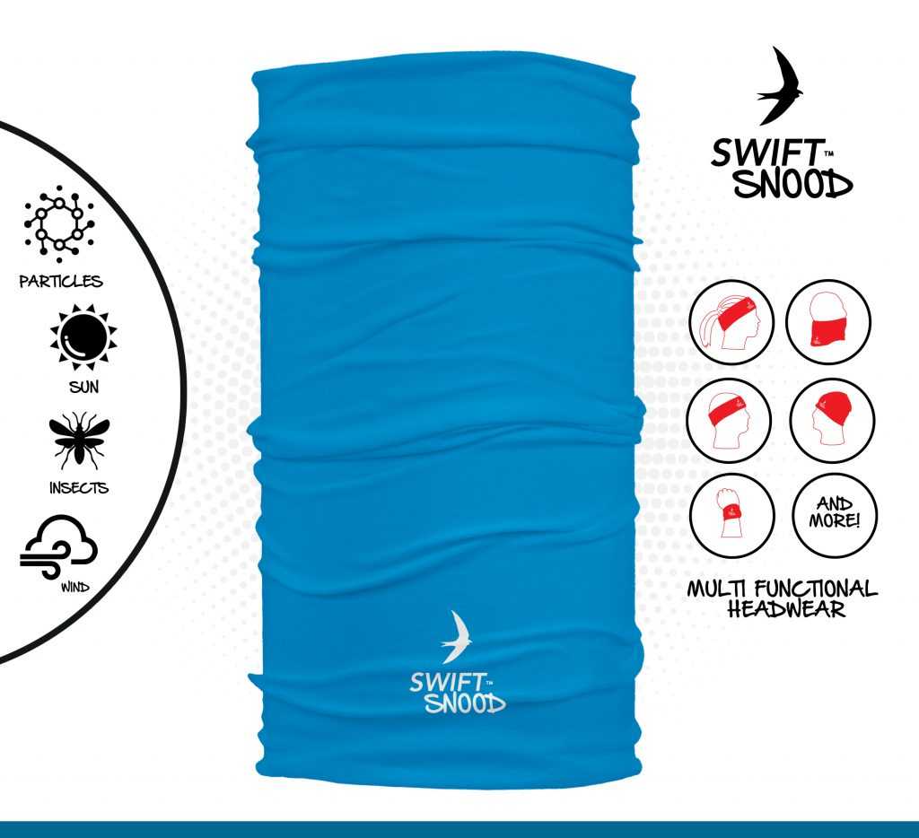 Swift-Snood Light Blue - adult size