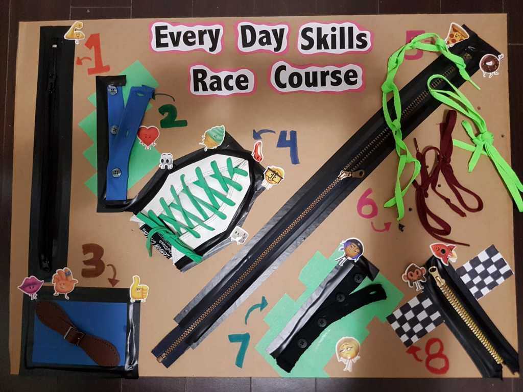 The Every Day Skills Race Course