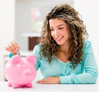 girl saving money - how much is loss of use coverage?