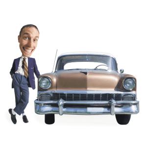 Used Car Salesman - New vs used car