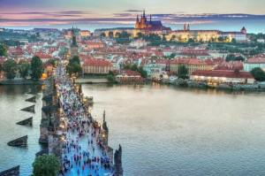 picture in czech republic - safest countries to travel in 2019