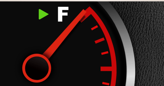 full tank of gas - Items to always keep in your vehicle