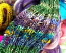 Beautiful handspun yarn by Cinda Peurala using Sassy Bee Fibers.