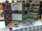 Watch for the Swift booth!