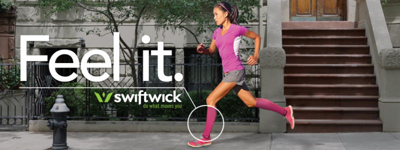 Swiftwick Feel It Running