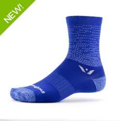 Swiftwick Vision Five Dash Blue Sock