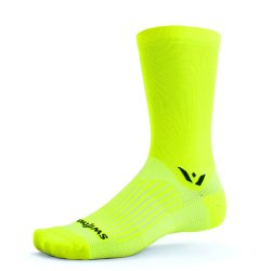 Swiftwick Aspire Seven HiViz Yellow Sock